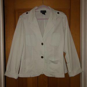 Style & Co. White Blazer